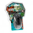 USB Optical Mouse 45 DEGREE (F-42) Gray/Black